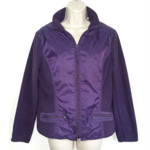COLDWATER CREEK Women Fleece Jacket Coat 0487E1